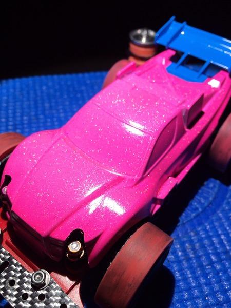 ナイトレージJr 蛍光ピンクホロ ドラえもんウイング