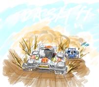 エンペラーがアバンテJrを抜き去ってる画像きぼん owned by coosodo