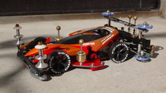 ASTRO BOOMERANG S2 (2012spec) owned by ワタル (team M4K) #MINI4WD