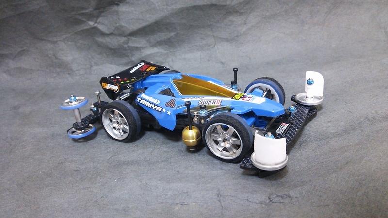 アバンテmk-2 青バージョン