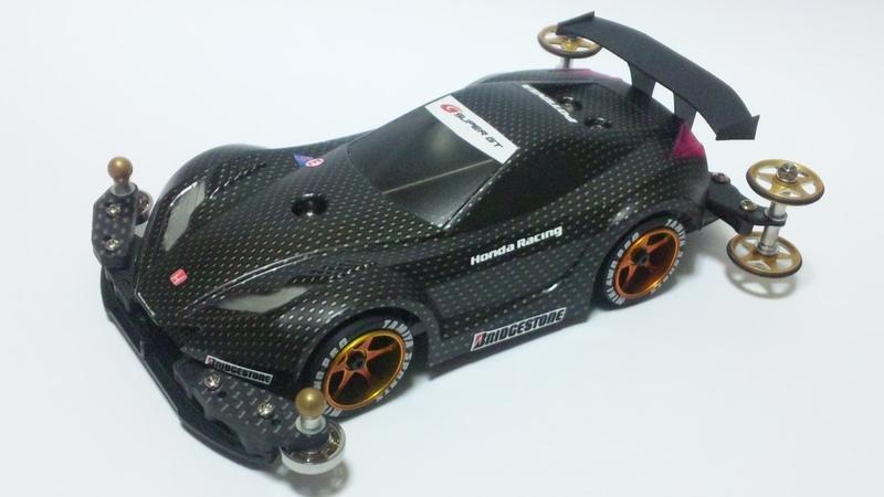 HONDA HSV-010 GT TEST CAR 2010