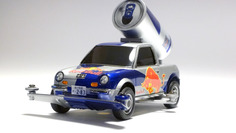 Be-1 RedBull Sampling Campaign Car owned by ワタル (team M4K) #MINI4WD