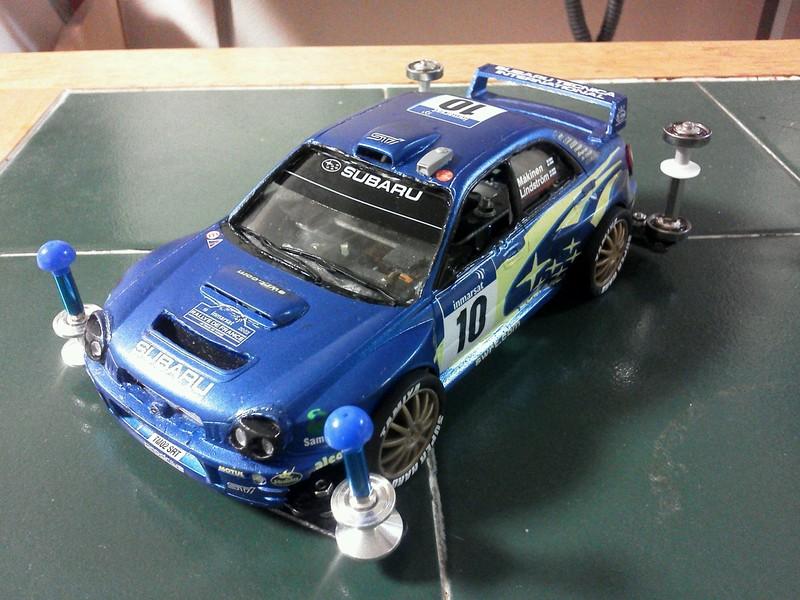 スバル インプレッサ WRC2002