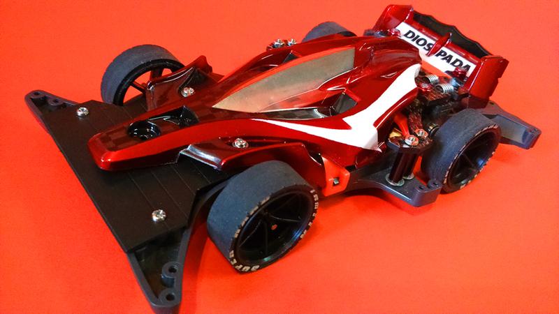 DIOSPAPA : Rear Steering version