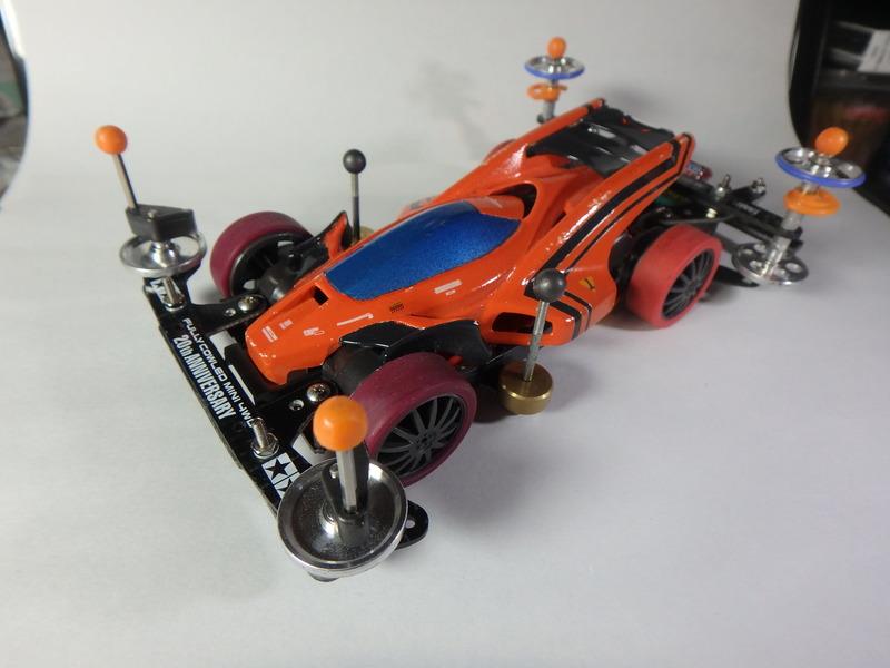 エアロサンダーショット オレンジフレーム