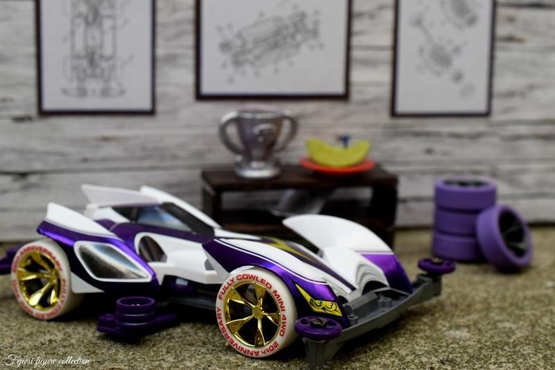 Mini4wd Shining Scorpion Violet Special