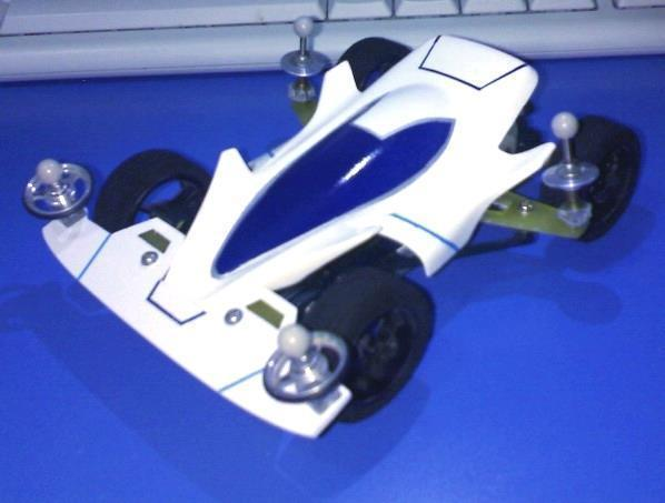 #streetmini4wd Big Bang Ghost on Type 5 Chassis (2009)