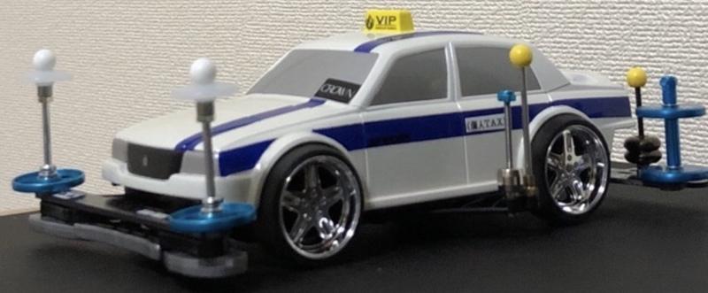 香港レーシングタクシー★15マジェスタ風〜個人タクシー仕様
