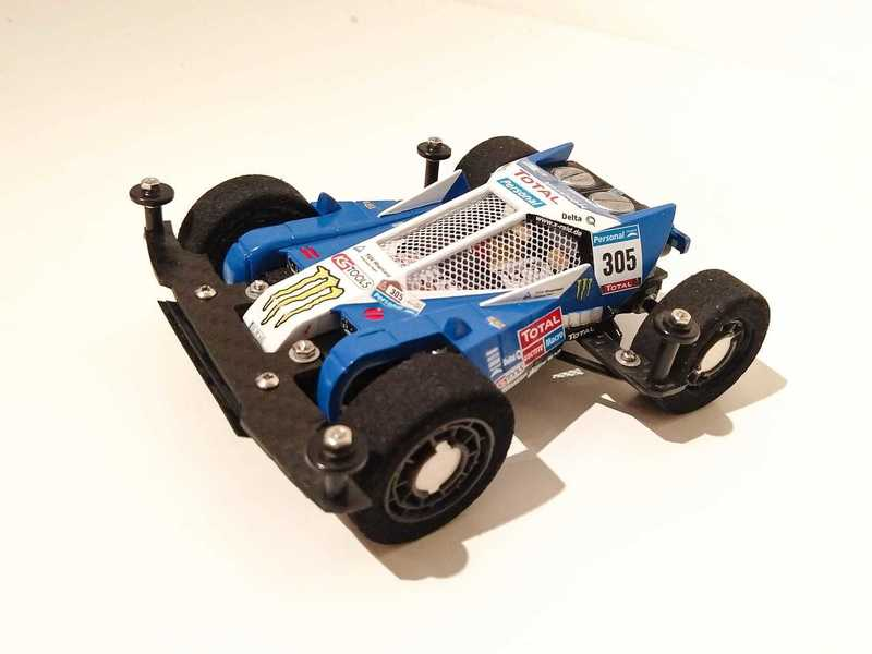 Burning Sun Dakar #mini4wdsport