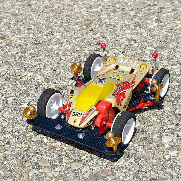 Crimson Glory Tributo Ferrari #mini4wdsport