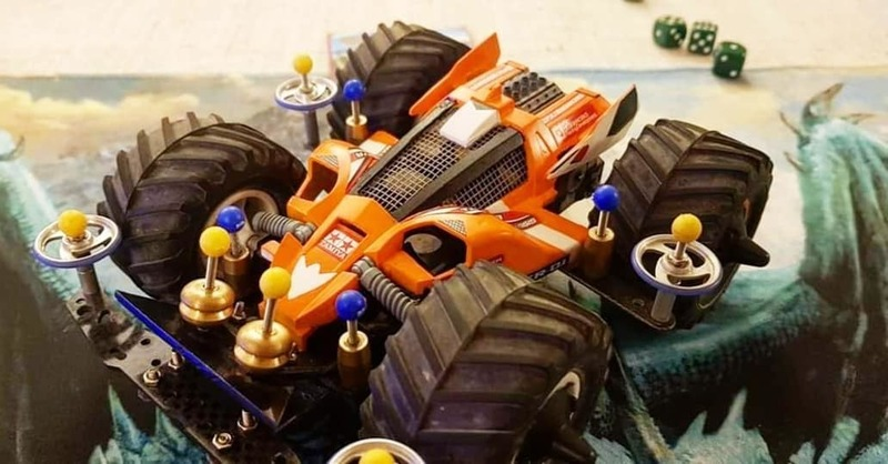 Super Emperor Cross Setup #mini4wdcross
