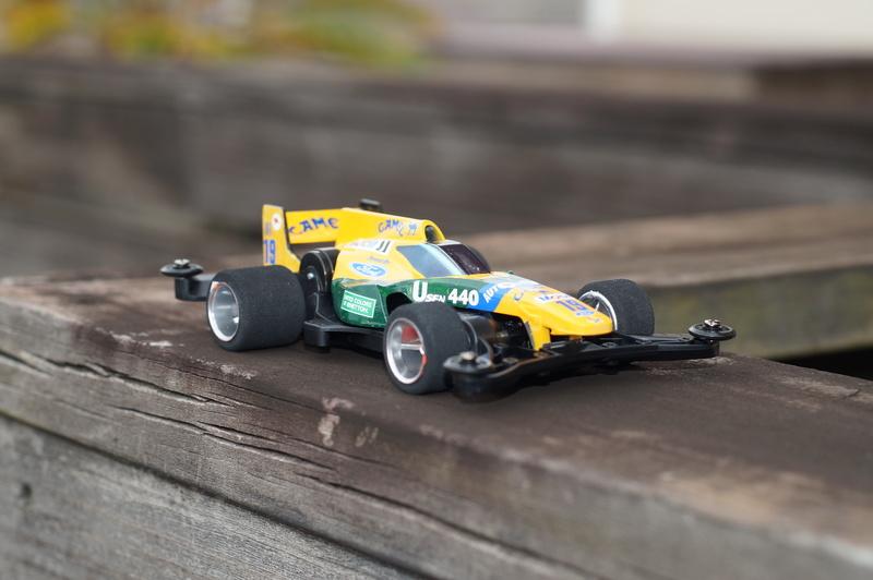F1ミニ四駆 ベネトン・フォード風 シャドーシャーク
