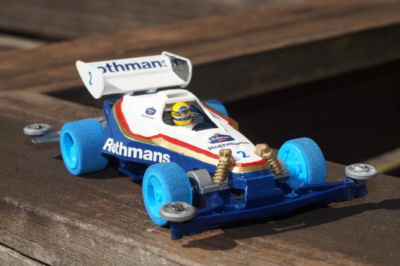 F1ミニ四駆 ロスマンズ コンカラー