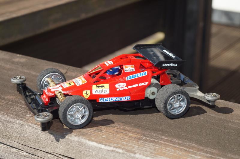 F1ミニ四駆 フェラーリF1風 ベアホーク