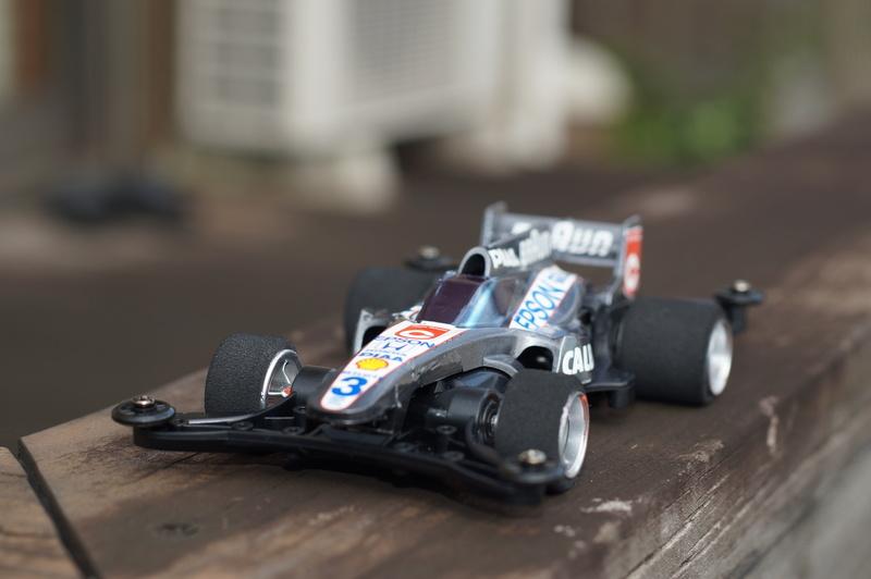 F1ミニ四駆 ティレル・ホンダ風 シャドーシャーク