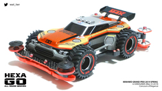 HEXA GO owned by ワタル (team M4K) #MINI4WD